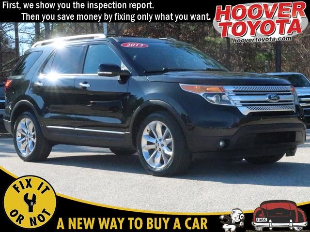 Pre-Owned 2013 Ford Explorer XLT FWD 4D Sport Utility