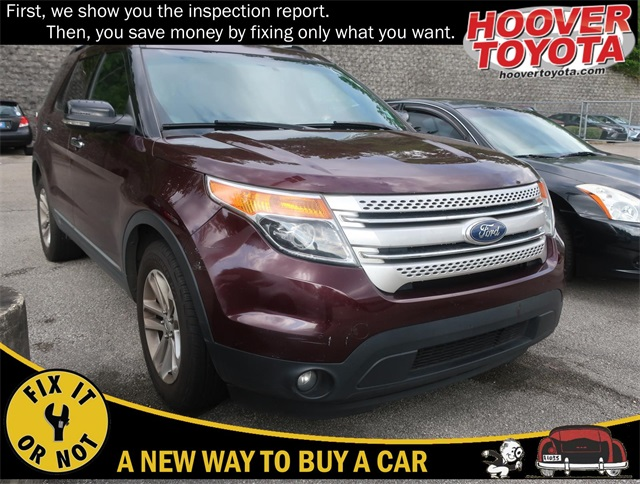 Pre-Owned 2011 Ford Explorer XLT FWD 4D Sport Utility