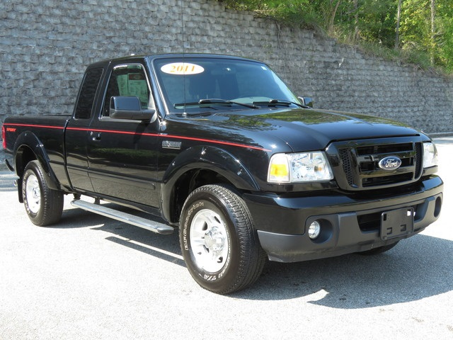 Pre-Owned 2011 Ford Ranger RWD Super Cab