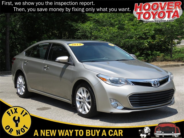 Pre-Owned 2013 Toyota Avalon XLE Touring FWD 4D Sedan