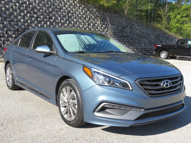 Pre-Owned 2015 Hyundai Sonata Sport FWD 4D Sedan