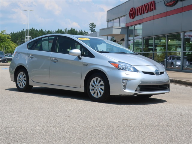 Pre-Owned 2012 Toyota Prius Plug-in Advanced FWD 5D Hatchback