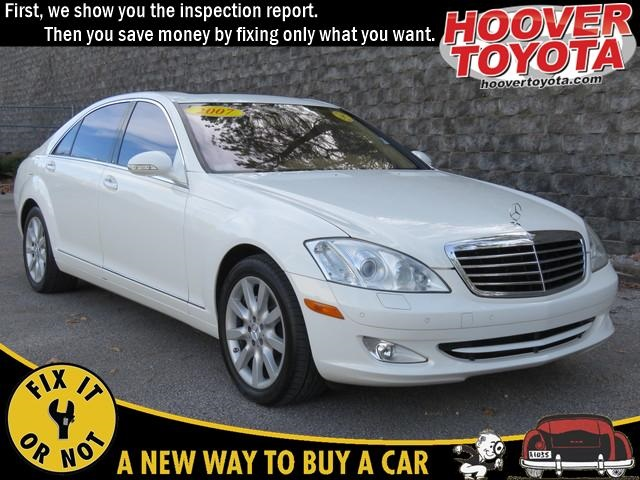 Pre-Owned 2007 Mercedes-Benz S-Class S 550 RWD 4D Sedan